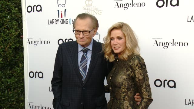 larry king's 60th broadcasting anniversary in los angeles, ca 5/1/17 - bodhi elfman stock videos & royalty-free footage