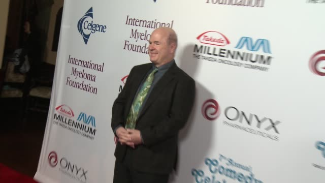 larry miller at international myeloma foundation 7th annual comedy celebration benefiting the peter boyle research fund & supporting the black swan... - peter boyle stock videos & royalty-free footage