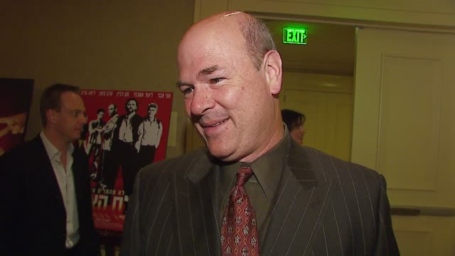 larry miller on hosting the event why sacha baron cohen is brilliant and why he loved borat prehosting rituals on missing his wedding anniversary for... - borat sagdiyev stock-videos und b-roll-filmmaterial