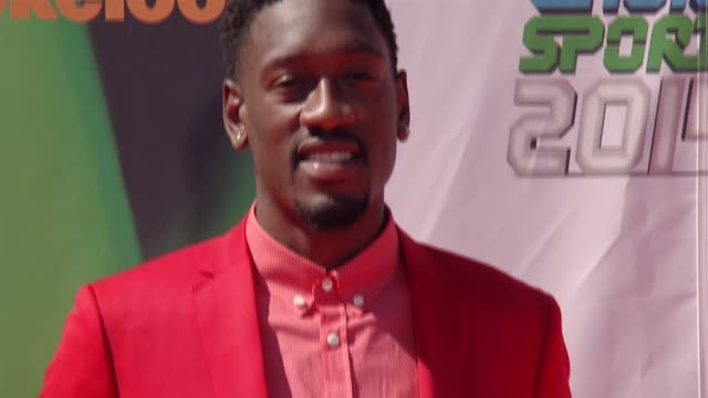 larry sanders nickelodeon kids' choice sports awards 2014 at pauley pavilion on july 17 2014 in los angeles california - nickelodeon stock videos & royalty-free footage