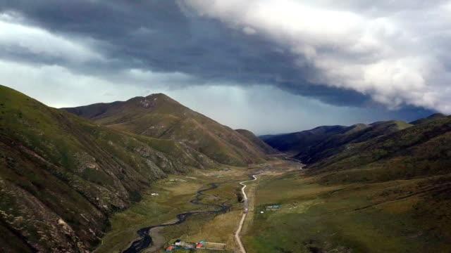 vidéos et rushes de la vallée de larung autour de l'institut bouddhiste tibétain de seda wuming - seda