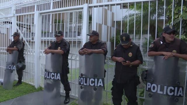 Las autoridades tributarias de Peru intervinieron el lunes la filial del bufete panameno Mossack Fonseca epicentro del escandalo de los Panama Papers