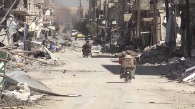 Las fuerzas del regimen sirio seguian ganando terreno el lunes en el centro del pais frente a los yihadistas del Estado Islamico