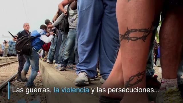 Las guerras la violencia y las persecuciones han expulsado de sus hogares a mas de 65 millones de personas en la peor crisis migratoria registrada...