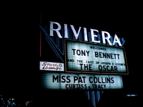 las vegas 1960s night also shot of sunset blvd in west hollywood day hollywood daytime host john willis discusses hollywood and las vegas the event... - west hollywood stock videos & royalty-free footage