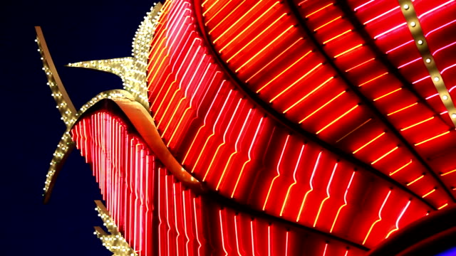 las vegas casino lights - las vegas stock videos & royalty-free footage