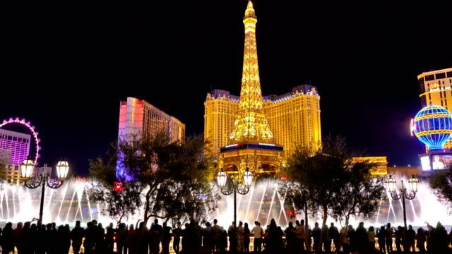 las vegas cityscape - gambling stock videos & royalty-free footage
