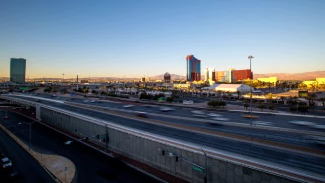 L'autoroute, à Las Vegas