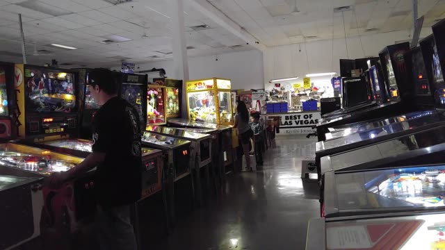 change machine at pin ball hall of fame clip 2 broll of the pinball hall of fame clip 3 broll of the pinball hall of fame clip 4 little girl playing... - hall of fame stock videos and b-roll footage