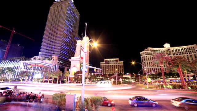 las vegas, nv street scene - the palazzo las vegas stock videos & royalty-free footage