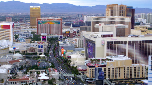 las vegas, nv - imperial palace hotel stock videos & royalty-free footage