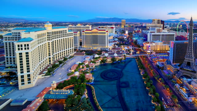 las vegas, nv - traffic time lapse stock videos & royalty-free footage