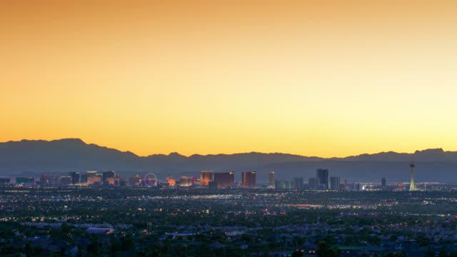 Las Vegas Sunset Timelapse