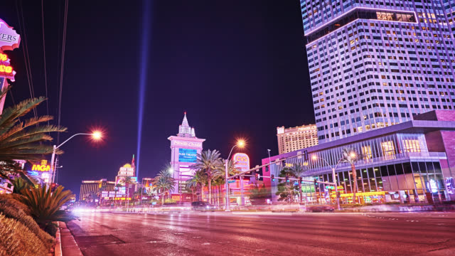 las vegas. the strip - gambling stock videos & royalty-free footage