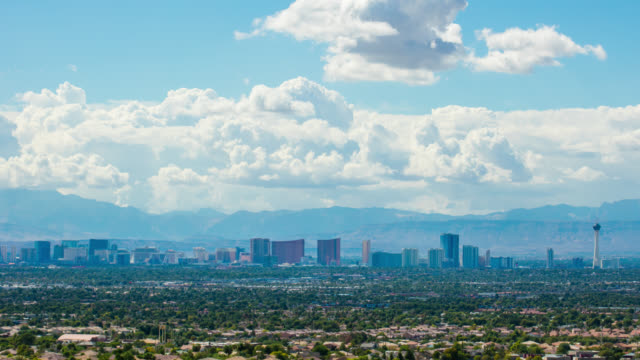 las vegas timelapse - the strip las vegas stock videos and b-roll footage