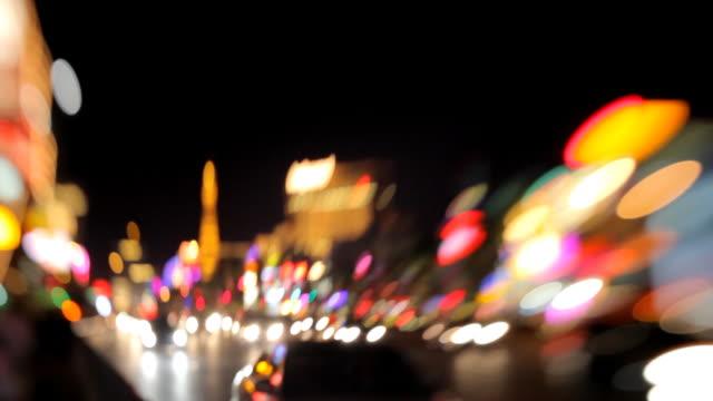 Verkehr auf den Las Vegas Strip