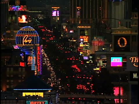 las vegas - casino night stock videos & royalty-free footage
