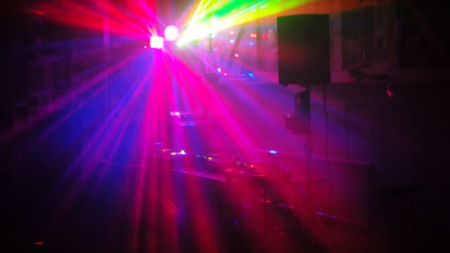 laser lights in a club - nightclub stock videos & royalty-free footage