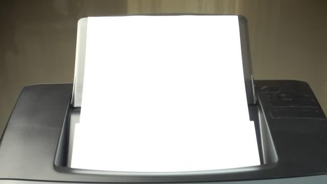 4K : Laser Printer document working