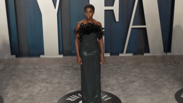 lashana lynch at vanity fair oscar party at wallis annenberg center for the performing arts on february 9, 2020 in beverly hills, california. - vanity fair stock videos & royalty-free footage