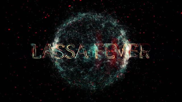 lassa virus title animation - disease vector stock videos & royalty-free footage