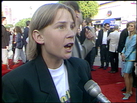 Last Action Hero Premiere Cam A at the 'Last Action Hero' Premiere on June 13 1993