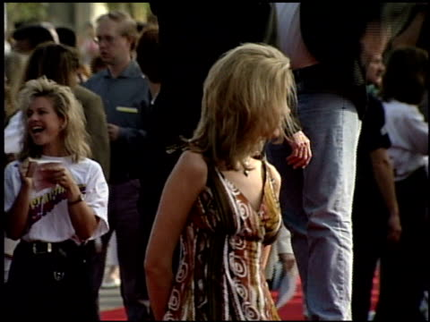 last action hero premiere cam b at the 'last action hero' premiere on june 13 1993 - anno 1993 video stock e b–roll