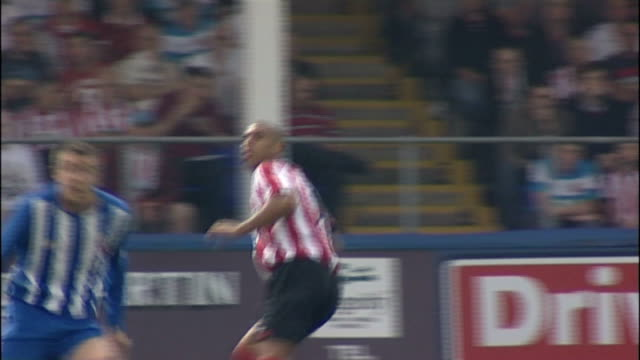 last day of the transfer window location unknown anton ferdinand playing for sunderland fc - transfer stock videos and b-roll footage