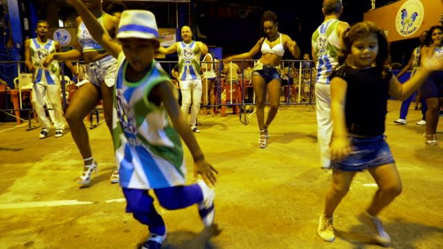 last practice for academicos da rocinha samba school in rio de janeiro. the samba school located in front of rocinha favela. january 31, 2018. - brazilian culture stock videos & royalty-free footage