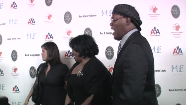 latanya richardson and samuel l jackson at the 29th annual the gift of life gala at the hyatt regency century plaza hotel in beverly hills,... - hyatt regency stock videos & royalty-free footage