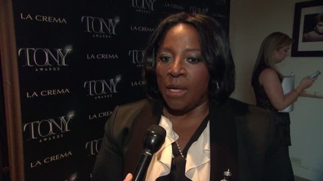 INTERVIEW LaTanya Richardson at The Tony Awards Celebrate Broadway In Hollywood at Sunset Tower on March 25 2015 in West Hollywood California
