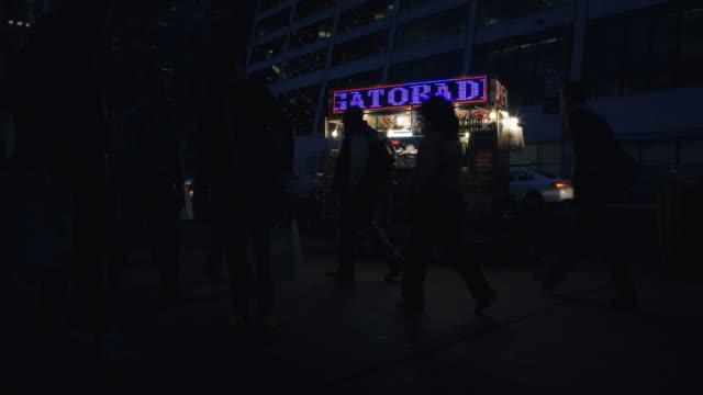 late night food truck - western script stock videos & royalty-free footage