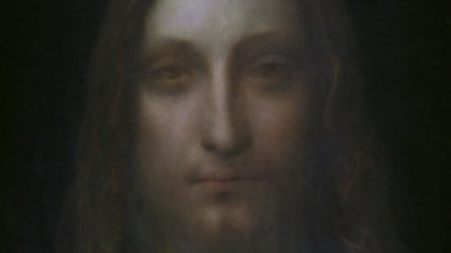 later this year the louvre in paris will host an exhibition of masterpieces by the italian painter leonardo da vinci to mark his death 500 years ago... - auction stock videos & royalty-free footage
