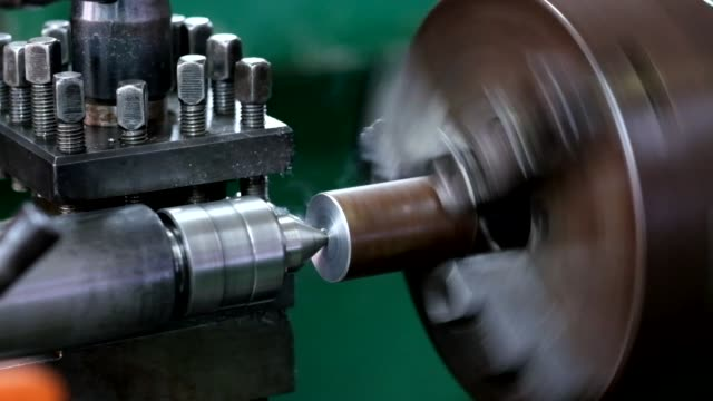 cnc lathe machine produces metal - automobile industry stock videos & royalty-free footage