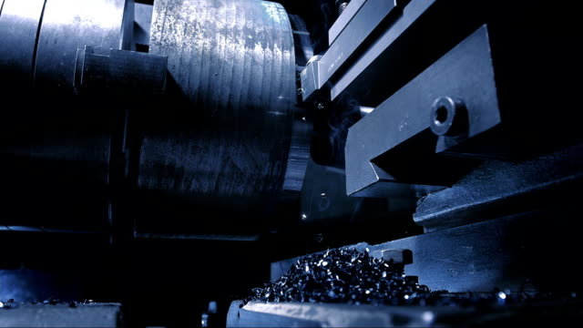 lathe processing (super slow motion) - super slow motion stock videos & royalty-free footage