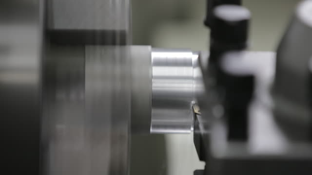 cnc lathe processing - foundry stock videos and b-roll footage
