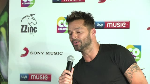 latin pop star ricky martin visits colombia to shoot the music video of his single la mordidita - ricky martin stock videos and b-roll footage