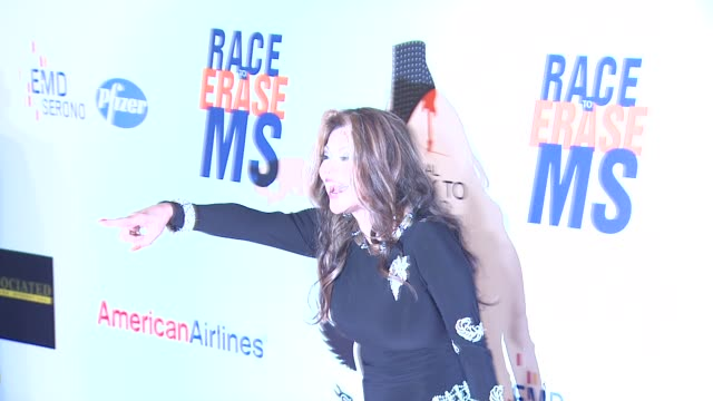 latoya jackson at 19th annual race to erase ms glam rock to erase ms on 5/18/12 in los angeles ca - race to erase ms stock videos and b-roll footage
