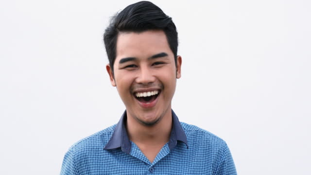 Laughing Thai Man