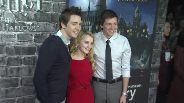 launch event for the home entertainment release of harry potter and the deathly hallows- part 1, new york, ny, united states, . - ロビー コルトレーン点の映像素材/bロール