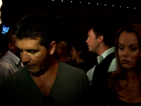 launch of new itv show 'britain's got talent'; england: london: int simon cowell and amanda holden interview sot - any audition show will attract... - britain's got talent stock-videos und b-roll-filmmaterial