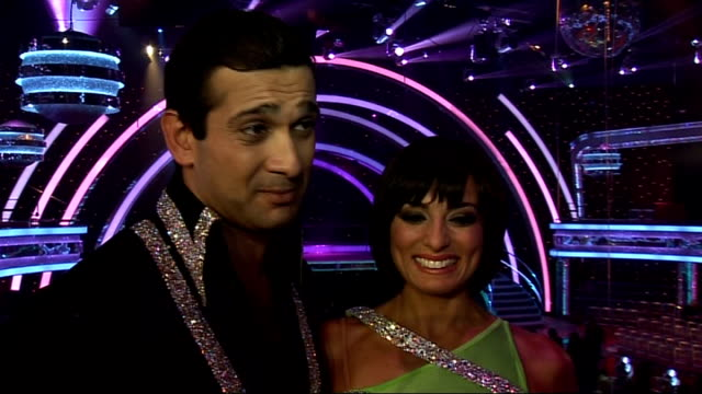 launch of new strictly come dancing series interviews with contestants jimi mistry interview with cacace sot have potential to win / they are the... - rhythm stock videos and b-roll footage
