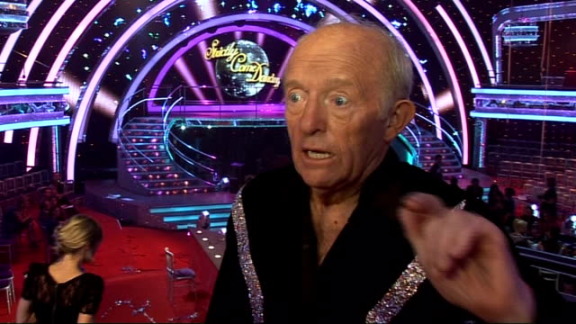 launch of new strictly come dancing series: interviews with contestants; paul daniels interview sot - on being joker of cast / has never danced... - paul daniels stock videos & royalty-free footage