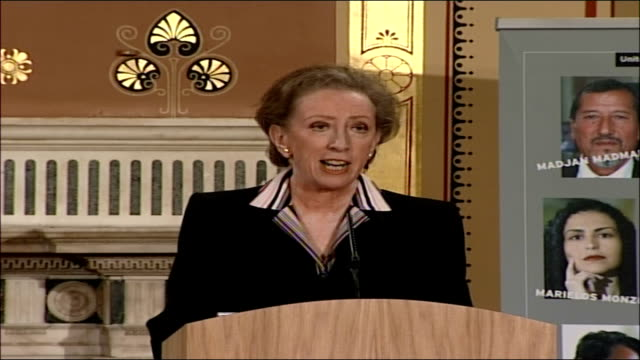Launch of the 2006 Annual Report on Human Rights Margaret Beckett speech The second example is the very touchy and difficult issue of deportations...