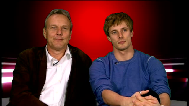 launch of third series of merlin television drama series: interviews with cast; anthony head and bradley james interview sot - watched first two... - epic film stock videos & royalty-free footage