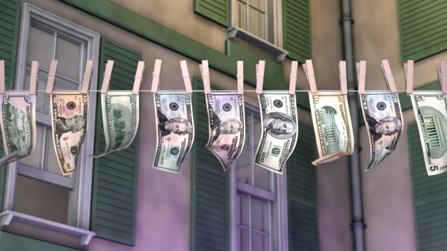 laundering american paper currency - winnings stock videos and b-roll footage