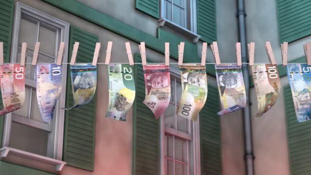 Laundering Canadian Paper Currency