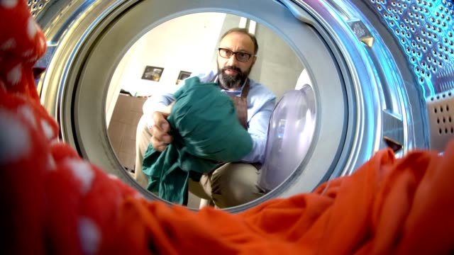 laundry time - washing machine stock videos & royalty-free footage
