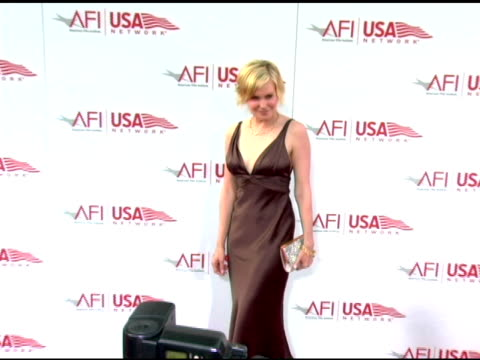 Laura Allen at the 33rd AFI Life Achievement Award 'A Tribute to George Lucas' at the Kodak Theatre in Hollywood California on June 9 2005