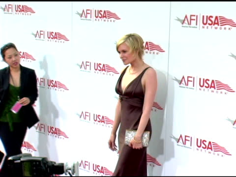 laura allen at the 33rd afi life achievement award 'a tribute to george lucas' at the kodak theatre in hollywood, california on june 9, 2005. - afi life achievement award stock videos & royalty-free footage